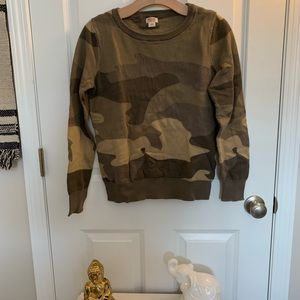 camp crew neck sweater
